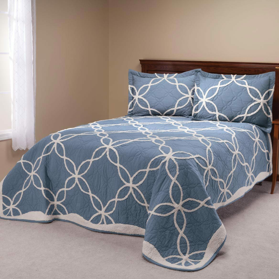 The Sophie Quilt with Chenille Tufting by OakRidgeTM