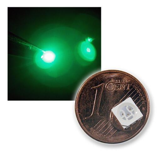 50 SMD LEDs 5050 grün PLCC6 HIGHPOWER grüne green vert groene LED SMDs 3-Chip
