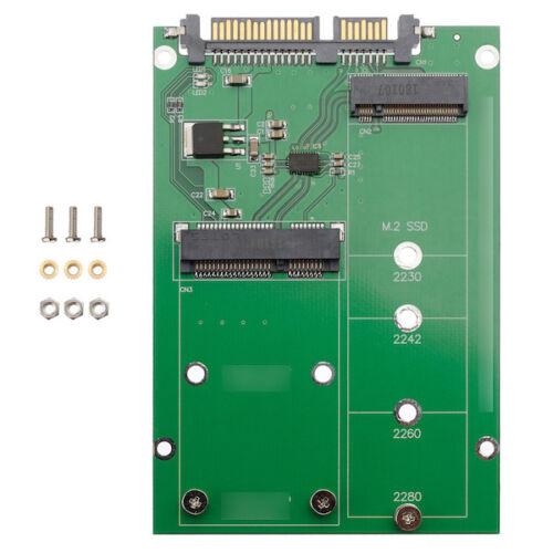 ZTC 2 in 1 Thunder Board M.2 NGFF or mSATA SSD to SATA III Board Adapter Card