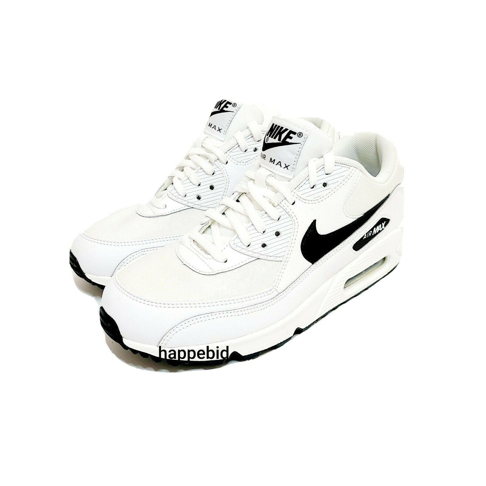 Brand New Nike Air Max 90 White Black 325213 131 Women 7 No Box Fast Shipping For Sale Online
