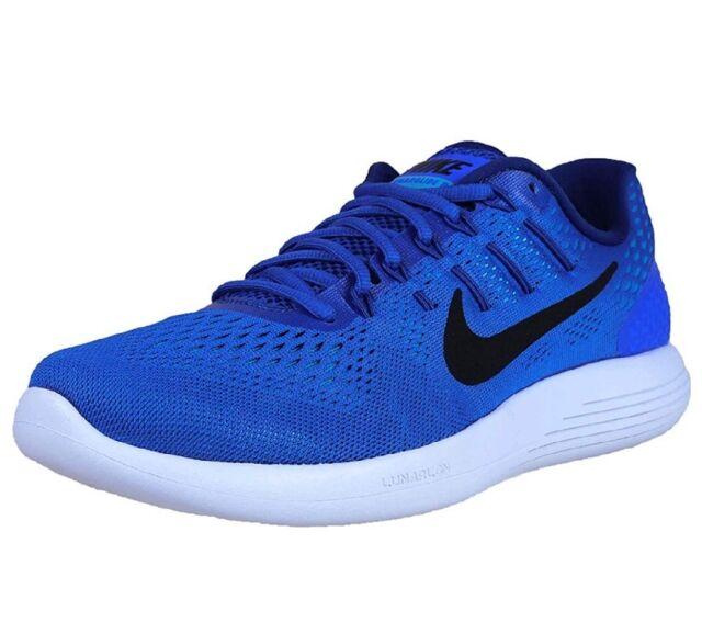 super popular f4dd8 cef04 Nike Lunarglide 8 Men s Shoes Aa8676 400. Racer Blue Black 9