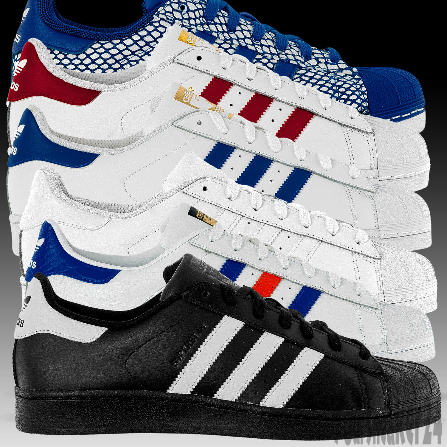 6b965341a Adidas Superstar Foundation All Sizes ZX 8000 Flux durable modeling ...