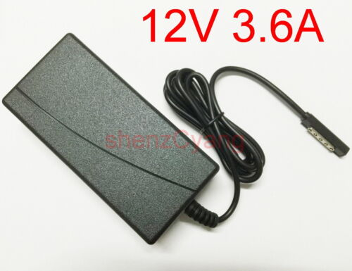 12V 3.6A AC Adapter Charger Power Supply Cord For Microsoft Surface Pro 1 2 New
