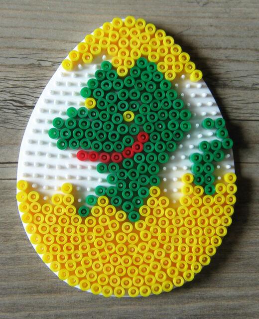 Stiftplatte Ei Nr. 260 Hama Bügelperlen midi Perlen