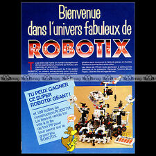 ROBOTIX MB 'Univers fabuleux' 1986 - Pub / Publicité / Original Advert Ad #A809