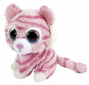 5 Inch Sweet Sassy Peppermint Pink Tiger Plush Stuffed Animal By