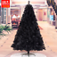 UPS-3-Days-3-4-5-6-7-8-ft-Black-Artificial-Christmas-Tree-Indoor-Home-Decoration thumbnail 17