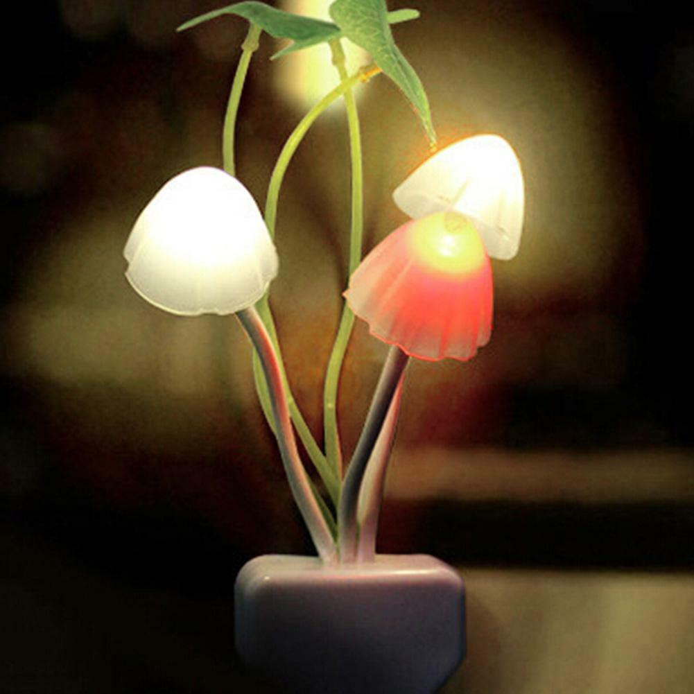 Schön Pilz Farbveränderung Sensor Led Nachtlicht Lampen Licht Geschenk Wohndeko   Guter weltweiter Ruf
