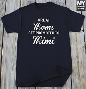 Image Is Loading Mimi Shirt Mothers Day Gift New Grandma T