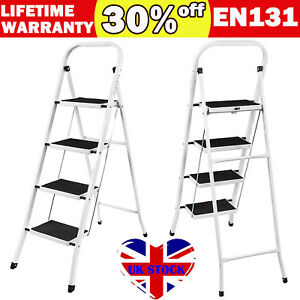 4 Step Ladder Anti Slip Safety Rubber Mat Sturdy Durable