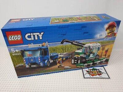 Brand New LEGO City Harvester Transport 60223 Free Tracked UK Post