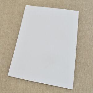 A4-Leere-Klebefolie-Fuer-Tintenstrahldrucker-Selbstklebendes-Papier-Beste-Neu-20x
