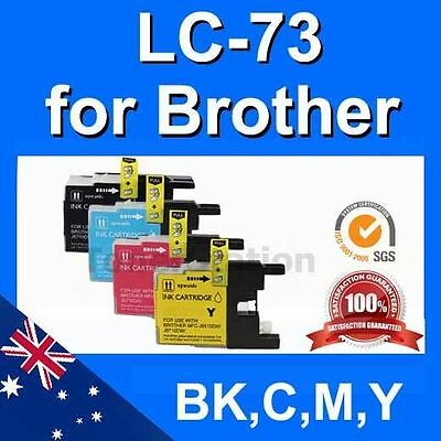 10x INK Cartridges LC-73 LC40 LC77 XL for BROTHER MFC J625DW J825DW J430W J432W