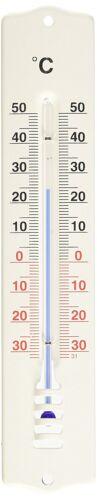 XL Metall Außenthermometer Garten Außen Balkon Thermometer Analog 33cm 23b-0-2