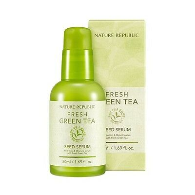 [Nature Republic] Fresh Green Tea Seed Serum 50ml