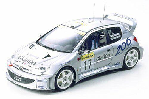 Tamiya 1     24 Peugeot 206 WRC 2000 versione modello plastica Kit nuovo da Japan a7f