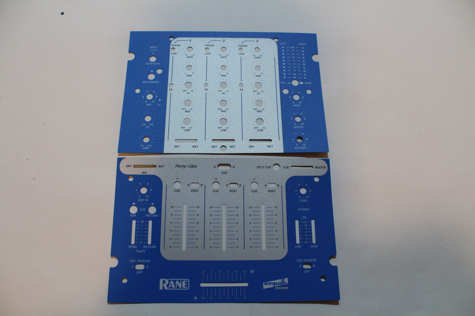 Rane Empath mixer skins - Upper & Lower - factory official - DJ - free ship