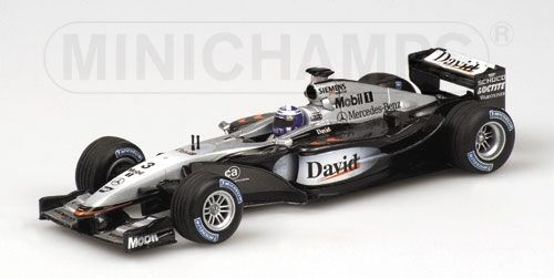 McLaren Mercedes MP4 17 17 17 D. Coulthard 2002 1 43 Model MINICHAMPS c48b60