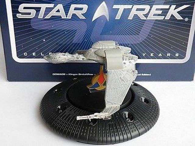Star trek klingonischen bird of prey ltd thema modell corgi klassiker beispiel k8967q