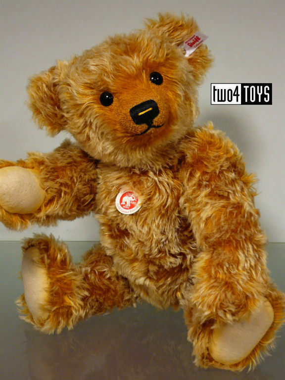STEIFF Ltd oroI TEDDY BEAR oro TIPPED MOHAIR 16.8in. - 42cm EAN 021060