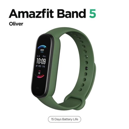 Amazfit Band 5 Multilanguage 15 Days Battery Life Water Resistant New Version