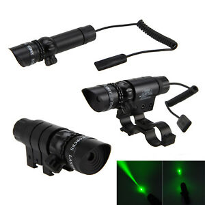 Tactical-Red-Green-Dot-Laser-Sight-Hunting-Scope-Rail-Remote-Switch