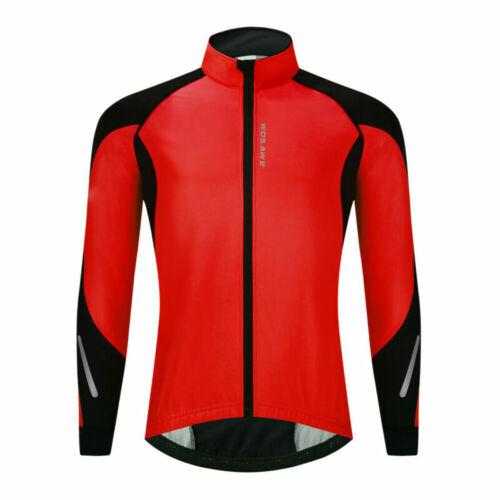 Herren Thermal Winter Fahrradjacke Hose Kit Winddichter warmer Mantel /& Hose