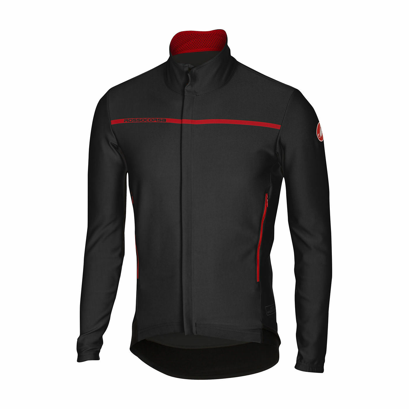 CASTELLI  GIACCA GIACCA GIACCA  PERFETTO LONG SLEEVE BLACK 82b1a2