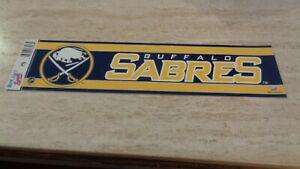Buffalo Sabres NHL Hockey Bumper Sticker -  Wincraft