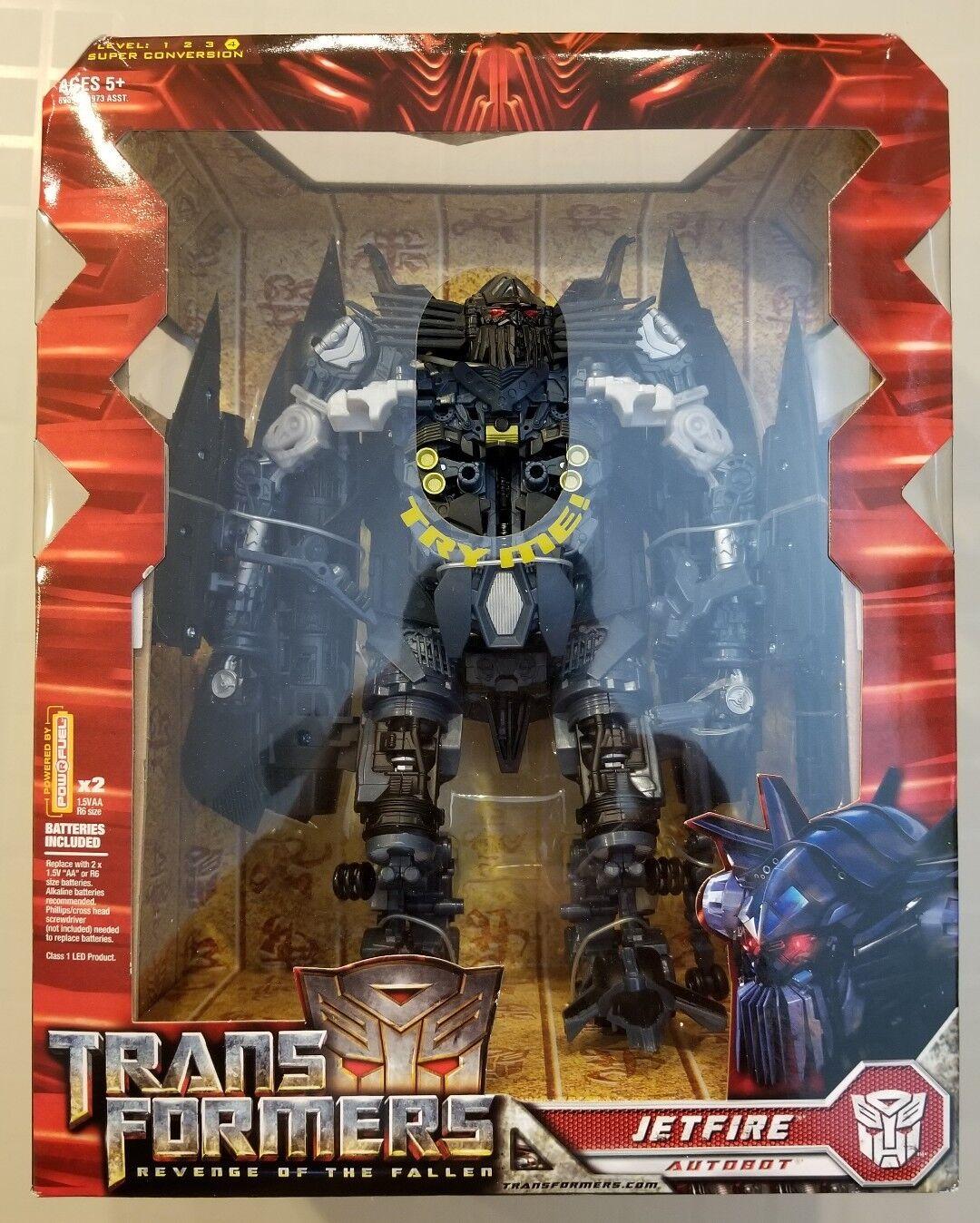 2009 HASBRO Transformers redF Revenge Of The Fallen AUTOBOT JETFIRE Leader NEW