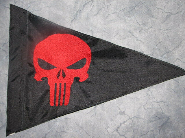 Other Outdoor Sports Custom Triangle Punisher Safety Flag 4 Atv Jeep Recumbent Bike Utv Whip Pole Sporting Goods Cub Co Jp