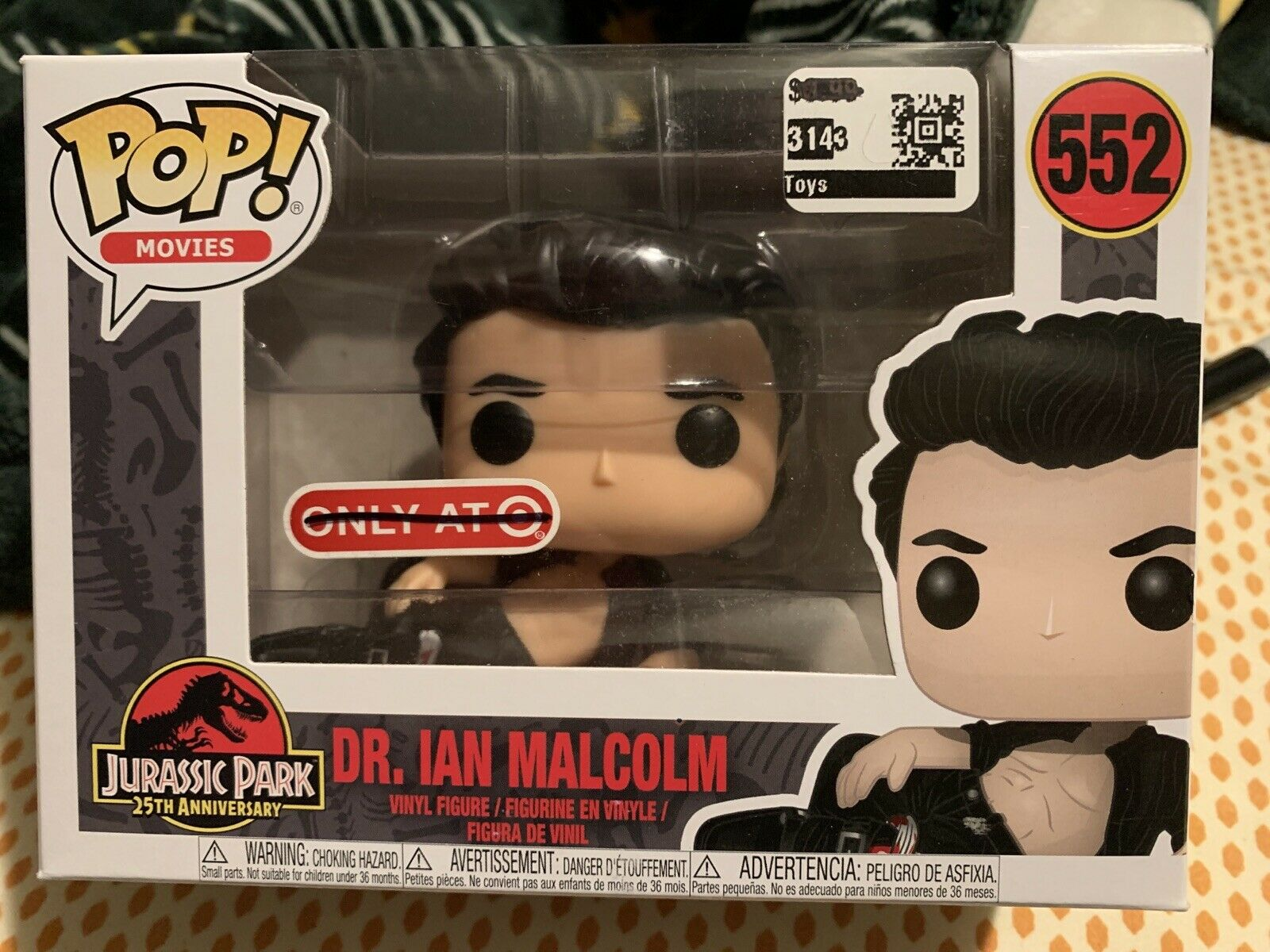 Jurassic P Dr Ian Malcolm Figure POP