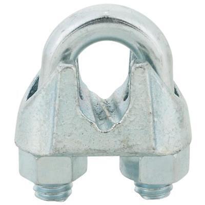 Galvanized Finish 0.375-In - Quantity 10 Bulk T7670459 Wire Rope Clip