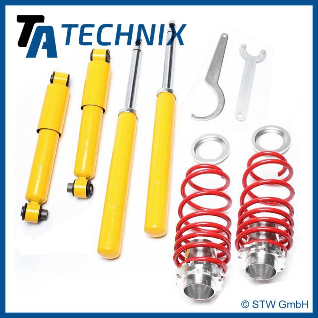 TA Technix suspensión roscada - Citroën Saxo/ PEUGEOT 106 1.0-1.6 + homologación