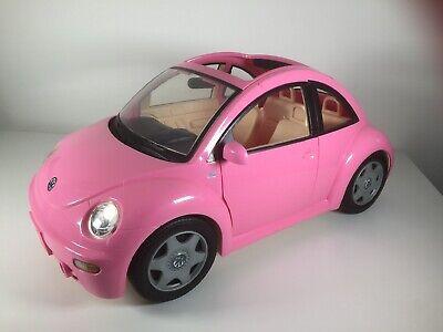 Barbie Mattel Pink Volkswagen Beetle