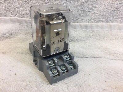 Releco S9-M Relay Socket Base with C9-A41 FX DC24V Releco Relay 6A 250V 944