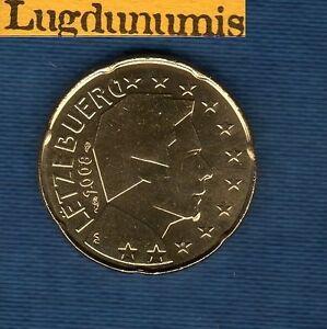 Luxembourg 2008 - 20 centimes d'Euro - Pièce neuve de rouleau - Luxembourg