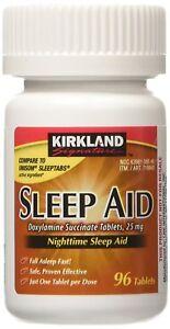 Kirkland-Signature-Sleep-Aid-Doxylamine-Succinate-25-Mg-96-Tablets