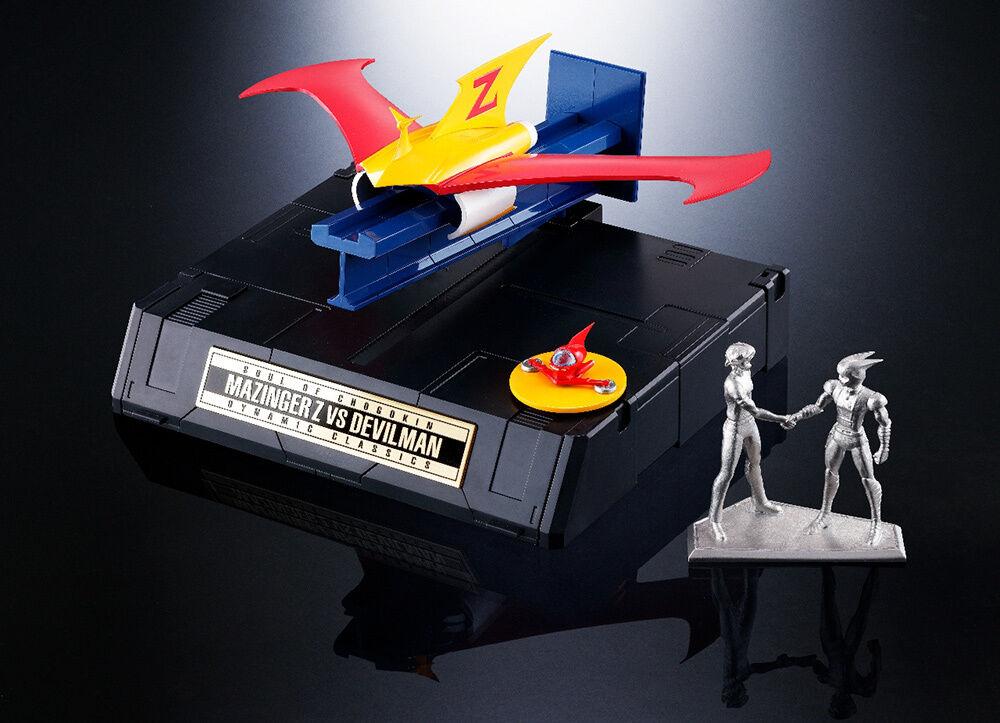 Mazinger Z VS Devilman GX-70VS Jet Scrander Pilder Figure TAMASHII WEB EXCLUSIVE