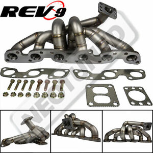 Details about REV9 HP-Series For RB26 Equal Length T4 Top Mount Turbo  Manifold Performance