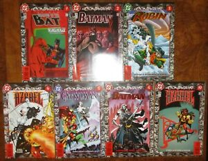Batman-Contagion-Lot-DC-Shadow-of-the-Bat-Robin-Azrael-Catwoman-1-2-3-4-5-6-10