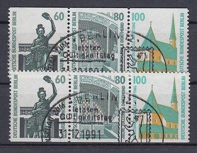 Briefmarken Zusammendrucke W 96 Aus Mh 15 Sehenswürdigkeiten Sonderstempel Produkte HeißEr Verkauf Vornehm Berlin Zusammendruck Gest W 95