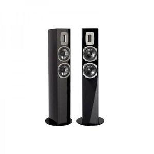 quadral chromium style 52 paar schwarz piano standboxen neu blitzversand ebay. Black Bedroom Furniture Sets. Home Design Ideas