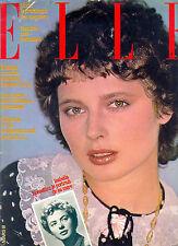 ELLE Mars 1978 Isabella Rossellini_Marlene Jobert_Erica Lennard  ©TBC