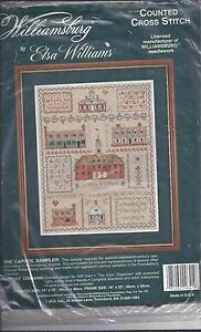Counted Cross Stitch Kit Elsa Williams New Sealed Capitol Sampler