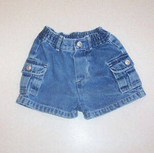 7e4958ed Infant Boy's The Children's Place Blue Denim Cotton Shorts 3-6 ...