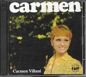 "CARMEN VILLANI - RARO 2 CD "" CARMEN "" - Italia - CARMEN VILLANI - RARO 2 CD "" CARMEN "" - Italia"