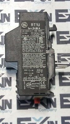 GENERAL ELECTRIC RT1U OVERLOAD RELAY 21-26A