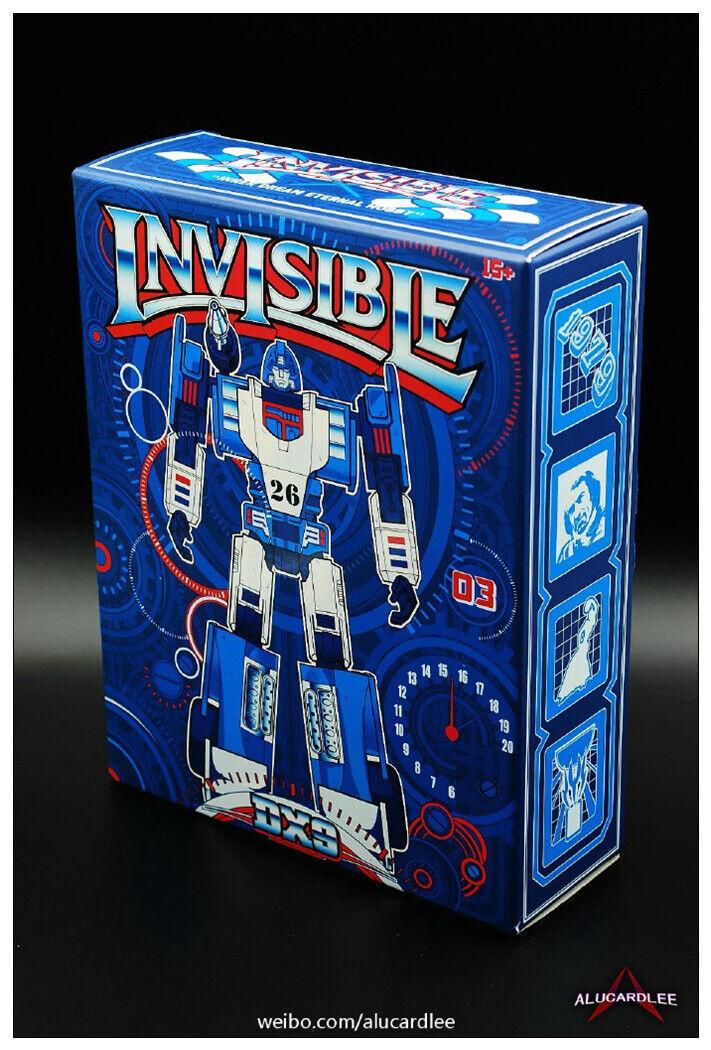 Nuevo juguete de Transformers DX9 D03 invisible G1 Mirage Figura De Acción