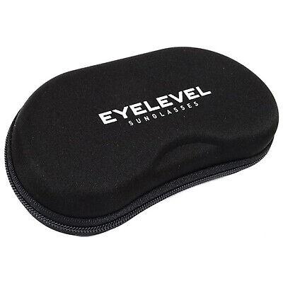 Eyelevel Occhiali Sport Caso Zip Nuovo Hard Carry Pouch Box Borsa Da Viaggio Con Cerniera-mostra Il Titolo Originale